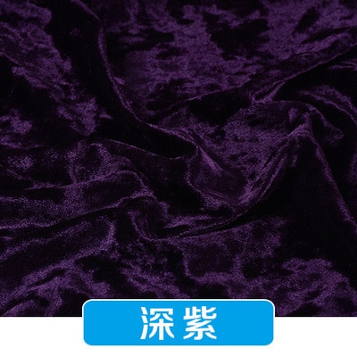 Gold velvet Diamond luster fabric for dress Stretch gentle thin flannel cloth diy Clothes Shirt Sewing Handmade patchwork