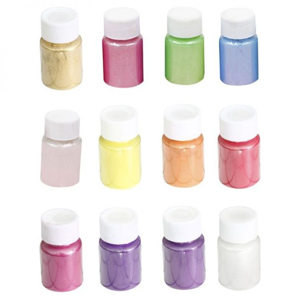 20 Colors Mica Powder Epoxy Resin Dye Pearl Pigment Natural Mica Mineral Powder for DIY Jewelry Making Crafts Dropship