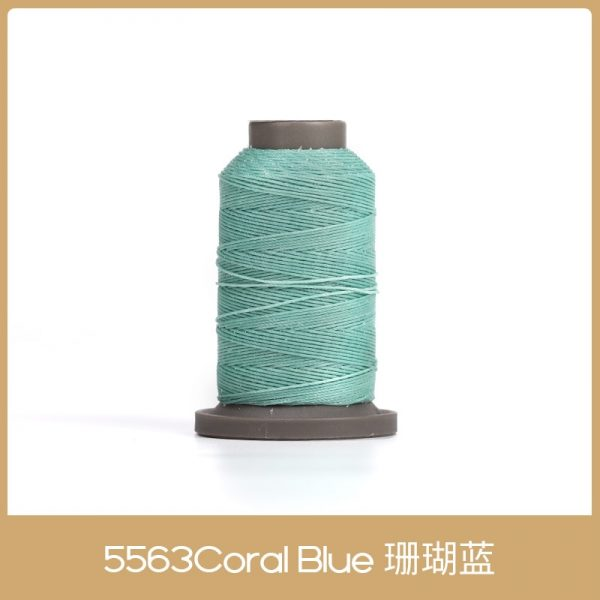 WUTA 90m Leather Sewing Round Waxed Thread 0.55mm Polyester Hand Sewing Line Leather Craft Tool ,Economy International Shipping