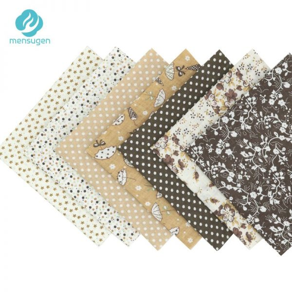 56 pcs/lot 25cm*25cm Printed Floral Cotton Fabric For Patchwork, Sewing Tissue Telas To Patchwork,Tilda Doll Needlework Cloth