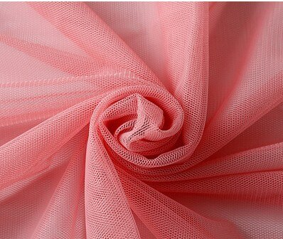 10meters/lot Soft Tulle Gauze Mosquito Net Gauze Fabric Solid Color Curtain Mesh Ground Tulle Roll For Wedding Decoration D631