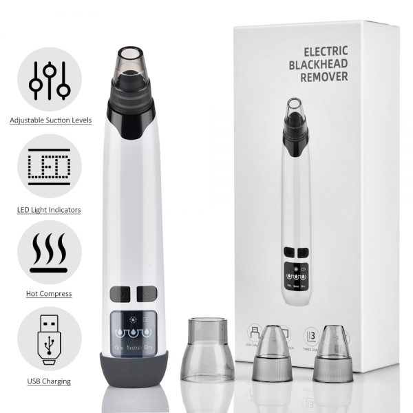 Blackhead Remover T Zone Pore Acne Pimple Removal Face Deep Nose Cleaner Vacuum Suction Facial Diamond Beauty Clean Skin Tool