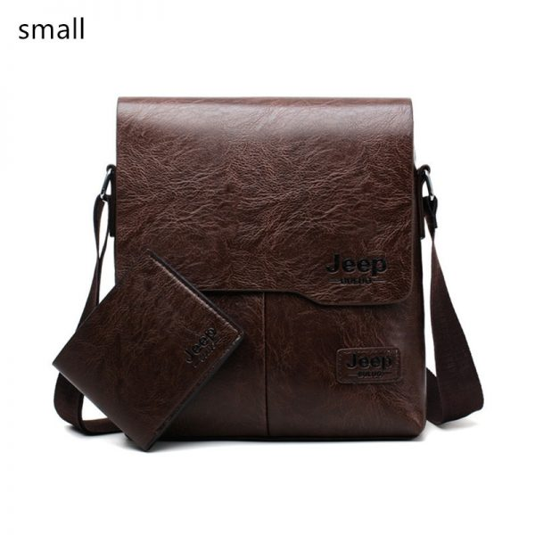 JEEPBULUO Men Tote Bags Set Famous Brand New Fashion Man Leather Messenger Bag Male Cross Body Shoulder Business Bags For Men