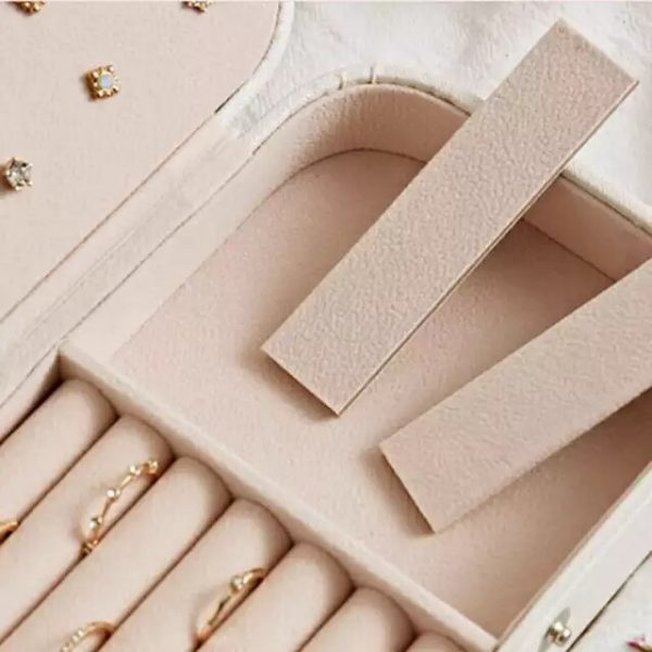 Jewelry Box PU Leather Jewellery storage Earring Boxes Packaging Storage Display Case Organizer for Home Travel girl gift
